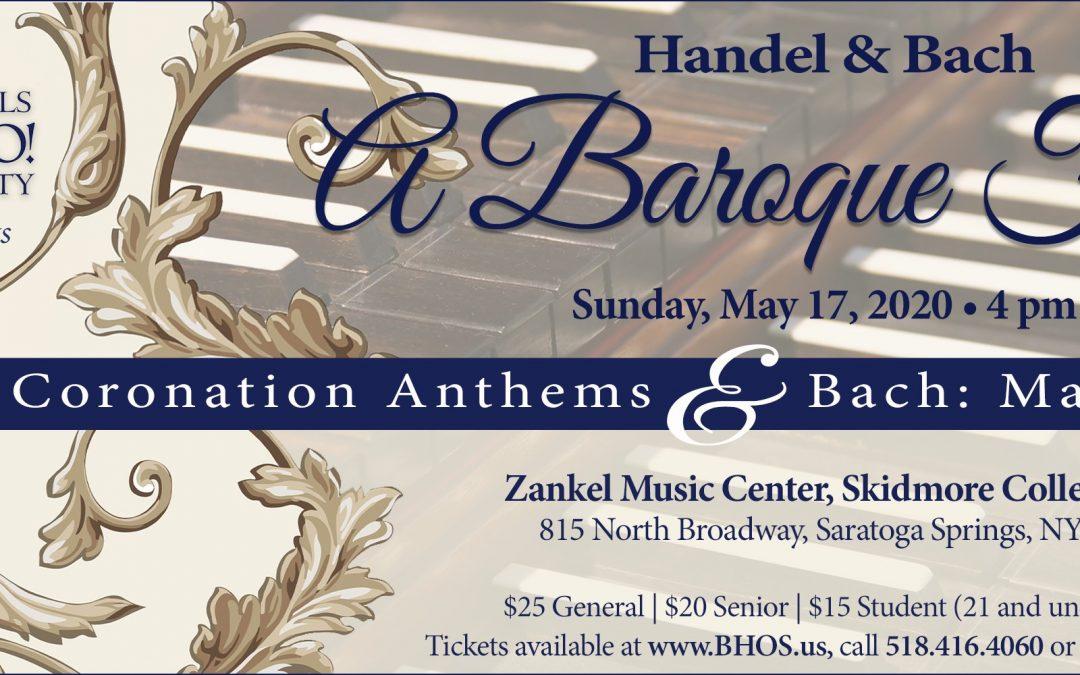 Handel & Bach: A Baroque Feast