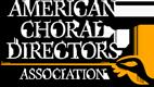 American Choral Directors logo
